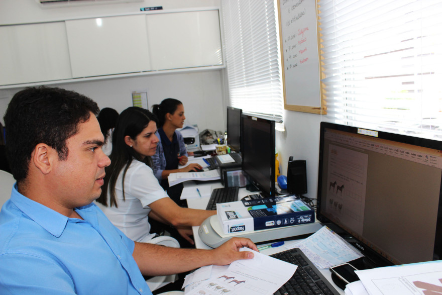 Equipe do Centro de Processamento Pedagógico Espaço Educar