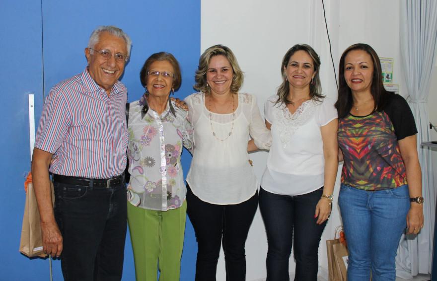 """""""A glória do mestre é a vitória do aluno"""", disse a professora Salete Bulhões"""