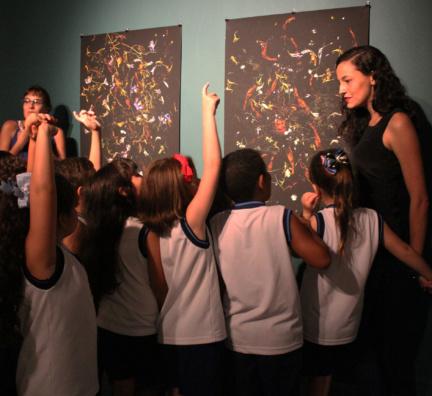 Aula de campo: visita a exposição 'Jardim em Suspenso'