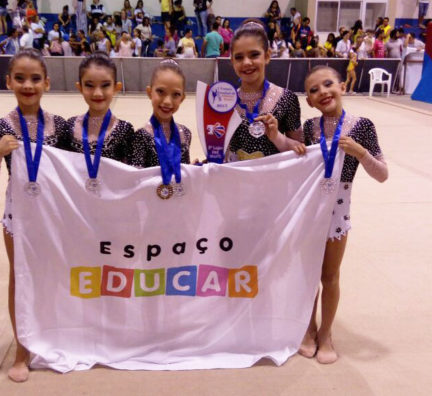 Ginastas participam do I Torneio Estadual de G.R.
