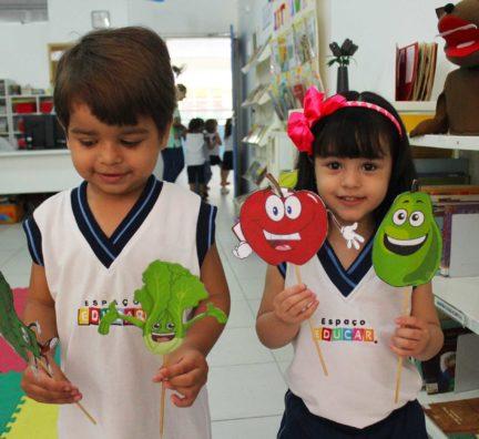 Estimulando a alimentação saudável entre as crianças