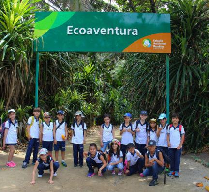 Visita ao Parque Ecológico Cinturão Verde